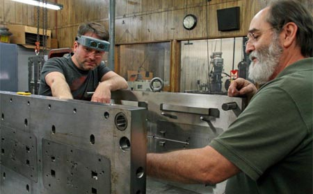 Building an injection mold