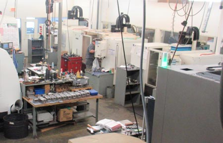 Machining centers, mills & lathes